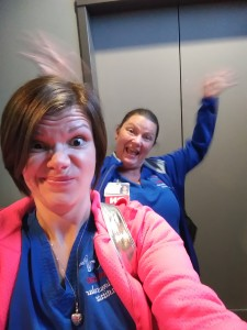 Living that crazy nurse life