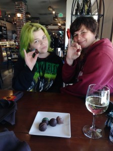 """""""Pinkies up!"""" Chocolate Secrets is a must stop when visiting the Dallas area for the first time!"""