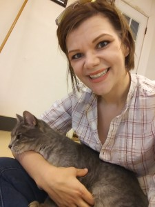 Volunteering at the Cattery at Free to Live
