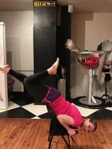 Sexy Basics class: Candlestick chair trick 2018